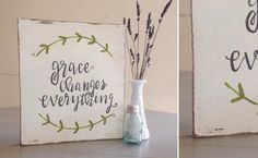Handmade Signs | Inspirational Signage | Decorative Sign