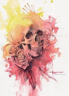 003-beautiful-watercolor-paintings-mekhz.jpg (540×750)