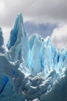 Glacier formations detail, Antarctica. I want to go see this place one day.