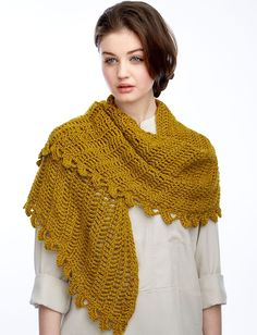 Yarnspirations.com - Bernat Slice of Nice Shawl - Patterns  | Yarnspirations