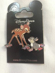 Disney Bambi Thumper 2 Pin Set | eBay