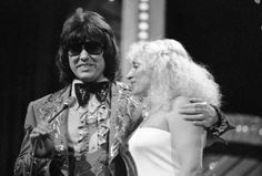 Ronnie Milsap and wife, Joyce at the CMA's.