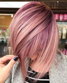 4-Short Hair Color 2017