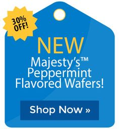 New Majesty�s� Flex Peppermint Flavored Wafers! Cyber Monday Sales, Holiday Deals, Black Friday Deals, Peppermint, Shop Now, Mint