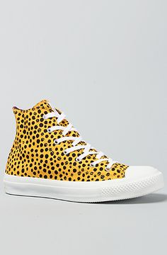 Converse The Marimekko Chuck Taylor All Star Premium Hi Sneaker in Saffron and Black, Save 20% off with Rep Code: PAMM6
