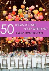1. Hang Colorful Lanterns! If you're looking to create a colorful statement, hanging lanterns from your reception space is a fun way to do it! Shop → here2. Getaway in Style! Say goodbye to your family...