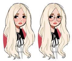 Drawing girl cartoon kawaii character design ideas for 2019 Drawn Art, Cute Art Styles, Dibujos Cute, Character Drawing, Animation Character, Pretty Art, Character Design Inspiration, Aesthetic Art, Cartoon Art
