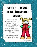 Ressources gratuites sur le thème de l'hiver Core French, French Class, Reading At Home, French Resources, French Immersion, Free Activities, Teaching French, Elementary Schools, Kindergarten
