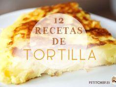 12 recetas de tortilla