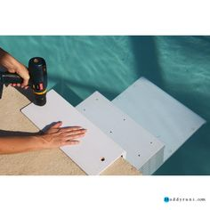 pinterest the worlds catalog of ideas - Above Ground Pool Steps For Handicap