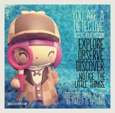 Stay curious!  www.lovemomiji.com