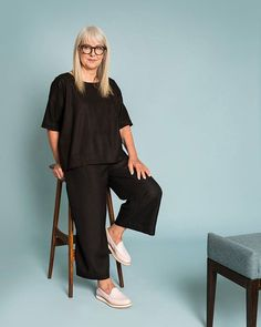 Buy well buy once with our LETA TOP and PANT. In a luxe black linen viscose blend for that linen feel with less crease! Online and instore now. #obusclothing #obusfortheladies #twentyyearsofobus #linen #originaldesign #designedinmelbourne #madeinmelbourne #lookbook #aw18 #autumn18 #buywellbuyonce #workwear #melbournefashion #melbourneshopping #linentop #linenpant #widelegpant #blacklinen