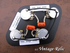 Electronics upgrade for gibson les paul with bourns pushpull pots image result for wiring diagram for a gibson les paul with twin humbuckers 50s style publicscrutiny Gallery