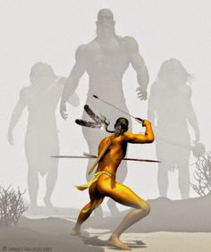 According to Paiute Indian oral legends, a tribe called the Si-Te-Cah were a native American race of tall red-haired giants that once oc...