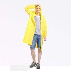 Top Sale ladies plastic long plastic pvc raincoats