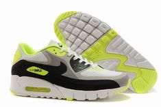 the latest 37bc6 b2bbd Buy Mens Nike Air Max 90 BR Retro Running Shoes White Fluorescence Green  Super Deals from Reliable Mens Nike Air Max 90 BR Retro Running Shoes White  ...