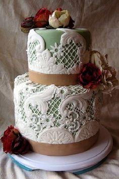 Victorian inspires cake