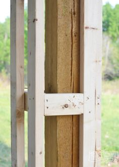 How to build DIY craftsman porch columns Improve your curb appeal with some DIY Porch Columns. Here is how we made ours to compliment our DIY Craftsman Foursquare home! Craftsman Porch, Craftsman Style, Craftsman Columns, Craftsman Staircase, Craftsman Fireplace, Craftsman Interior, Craftsman Kitchen, House With Porch, House Front