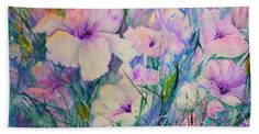 Spring Flower Medley Pink And Purple Art Print by Sabina Von Arx. All prints are professionally printed, packaged, and shipped within 3 - 4 business days. Choose from multiple sizes and hundreds of frame and mat options. Purple Spring Flowers, Purple Beach, Purple Art, Pastel Flowers, Iris Flowers, White Flowers, Poppy Flowers, Purple Canvas, All Poster