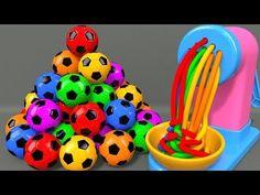 البوز في مصر : Learn Colors with Bunny Mold and Pasta Spaghetti Making Toy Fruits Squishy Ball for Kids Children Kids Nursery Rhymes, Rhymes For Kids, Abc Kids Tv, How To Make Toys, Learning Colors, Pasta Spaghetti, Kids Songs, Crafts For Kids, Balloons