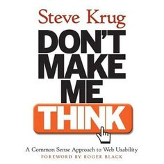 book, creatives, Designers, entrepreneurs, professionals, Recommendations, web design, typography, helpful, best, top, Don't Make Me Think! A Common Sense Approach to Web Usability