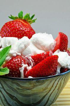Fruit Salad with Cannoli Cream Dessert Recipe