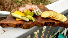 End Grain Meat and Cheese Board, Spalted Cherry, Cutting Board Walnut Oil, Tasty, Yummy Food, Meat And Cheese, Old Wood, Butcher Block Cutting Board, Food Grade, Hand Carved, Men Cave