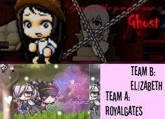 horror story (Act 1 team A, Act 2 team B)