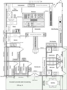 Chic Small Commercial Kitchen Design Plans: Chic Small Commercial ...