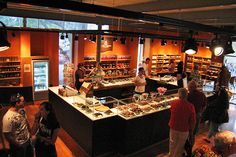 Lake Champlain Chocolates Factory Store (750 Pine Street, Burlington) This store offers everything from a free adventure to free chocolate samples to a large threat to your bank account. The samples change daily but the tours are happening year round. Be careful though, as soon as the smell of chocolate hits you, you'll be willing to hand over everything from your wallet to your first-born! Be sure to check out the seconds – another way to stretch your dollar when it comes to fine chocolate.