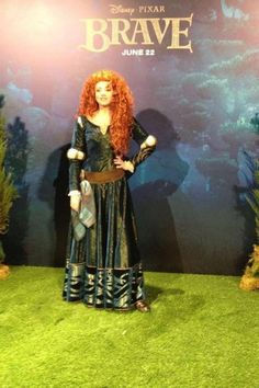 LOOK WHO IS HAS BEEN REVEALED! PRINCESS MERIDA FROM BRAVE!