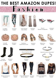 Choosing The Perfect Handbag That's Suitable For All Season - Best Fashion Tips Amazon Dresses, Amazon Clothes, Best Amazon Buys, Chloe Purses, Gucci Leather Belt, Gucci Jeans, Valentino Pumps, Free People Maxi Dress, Gucci Sunglasses