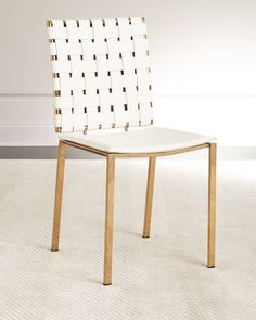 Sangie Leather Dining Chair