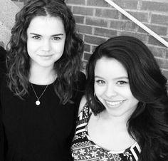 Maia Mitchell and Cierra Ramirez