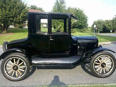Ford Model T - first car I learned to drive in the 1960's