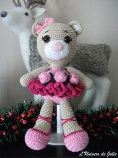 Bibi the Ballerina Bear Patron SmartApple Creations