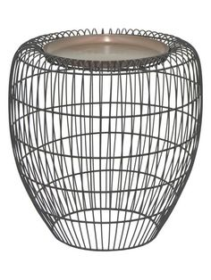 Tall Accent Table by Three Hands at Gilt