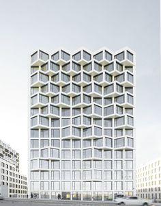 Housing in Hirschgarten / Allmann Sattler Wappner . Architecten - München, Germany