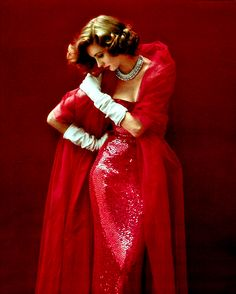stylethen:  Suzy Parker photographed by Milton H. Greene for Vogue, 1952