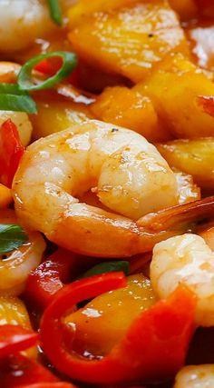 Pineapple BBQ Shrimp