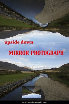 When you do it the way it's described in this blog post. You don't need a mirror, just one photograph, software and an imagination. Read how it's done, then choose a photograph  follow the steps and make your reflection photography. #reflectionphotography Reflection Photos, Reflection Photography, First Photograph, Photo Projects, Photography Projects, Imagination, Software, Mirror, Learning