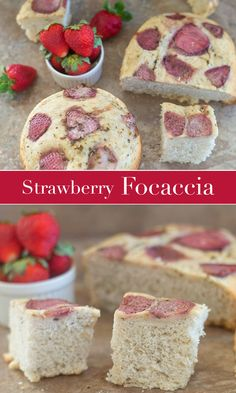 Slow Cooker Strawberry Focaccia bread is very easy to make. Make the dough and place them in a slow cooker. Takes about 3 hours to make