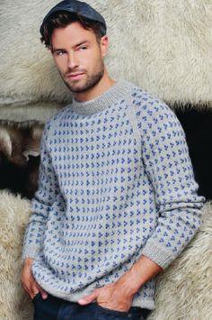 Nordic Sweater, Men Sweater, How To Purl Knit, Sweater Design, Knit Fashion, Knitting Designs, Sports Shirts, Knitting Yarn, Ikon