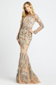 Bridal Jumpsuit, Trumpet Dress, Mac Duggal, Couture Details, Formal Gowns, Formal Wear, Mermaid Prom Dresses, Couture Dresses, Special Occasion Dresses