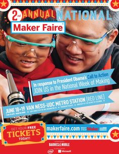 More Info: http://makerfaire.com/national/