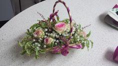 Bridesmaid/flower girl basket