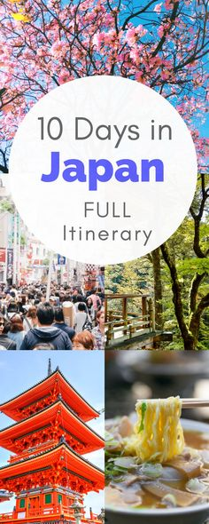 Heading to Japan soon? Check out this COMPLETE 10 Day Japan itinerary, which can easily be turned into 2 weeks in Japan! TONS of info!