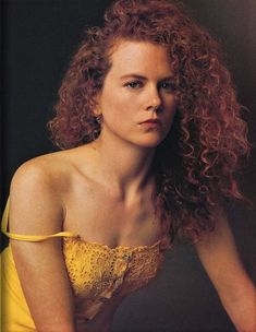 Nicole Kidman by Annie Leibovitz for Vanity Fair July 1990.