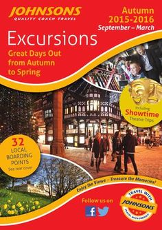 Johnsons Coaches Winter Day Excursions 2015