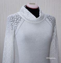 Vintage Knitting, Lace Knitting, Knitting Patterns, Knit Crochet, Knit Fashion, Crochet Clothes, Knitting Projects, Mantel, Knitwear